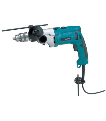 Makita Impact Drill, HP2070, Drill Capacity: Wood: 25 mm, Steel: 8 mm, Concrete: 20 mm, 1010 W