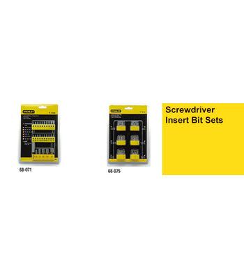 Stanley,Screwdriver Insert Bit Sets 68-075-23