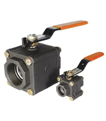 L&T Ball Valve L3RBTC 15 mm Cast Steel