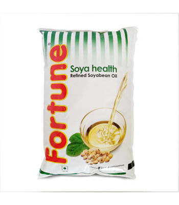 Fortune Soyabean Oil 1 Ltr Pouch