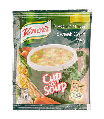 Knorr Insnt Soup Sweet Corn Soup Pack Of 5 (5X12G)