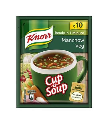 Knorr Instant Manchow Soup Pack Of 5 (5X12G)