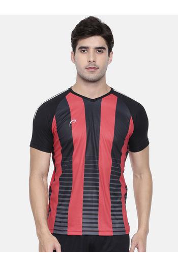 c62f86db Proline Active Black Raglan Short Sleeve V- Neck Comfort Fit Graphic Tee  Shirt ...