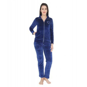 Cozy Navy Blue nightsuit