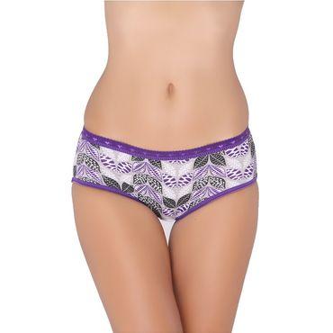 Leafy Purple Panty
