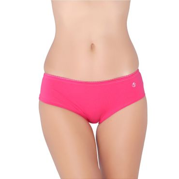 Hot Pink Cotton Panty