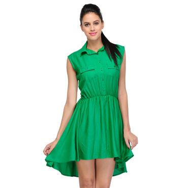 Camila Green Dress