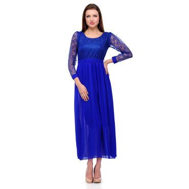 Nelly Blue Long Dress