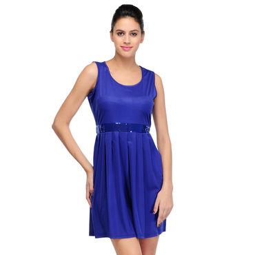 Sandy Blue Short Dress
