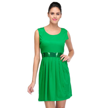 Sandy Green short Dress