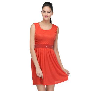 Sandy Red short Dress