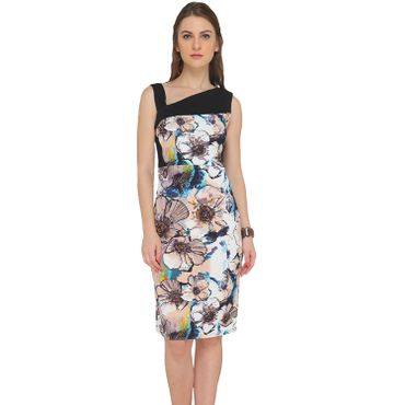 Flower Printed Club Dress