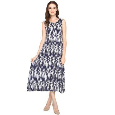 La Zoya Blue back hole Dress