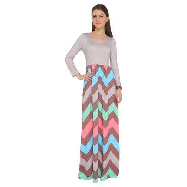 Stylish long sleeve Maxi dress