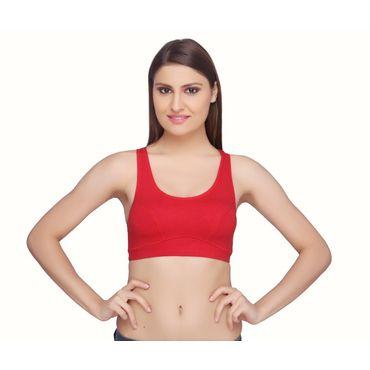 Moving Comfort Gym Bra -Red