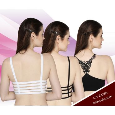 Set of three Bralets