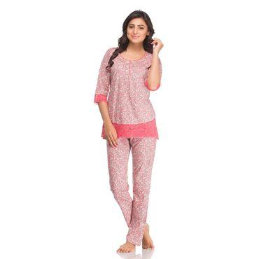 Top & Pajama in Peach Color
