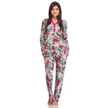 Green Floral Nightwear suit