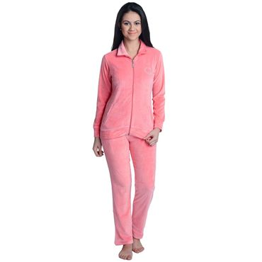 Pajama Set in Peach Color