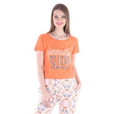 Orange Top & Pajama