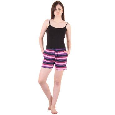 Maroon Hosiery Shorts