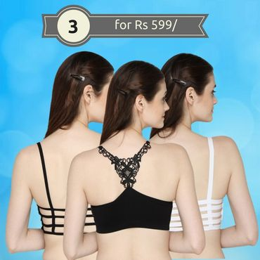 3 BRALET for Rs 599