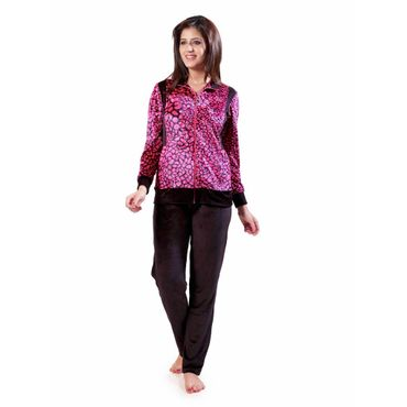 Vellure Nightwear Suit Red Black