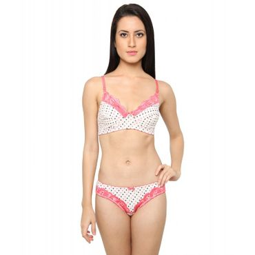 Cotton Wide Neck line Printed Bra