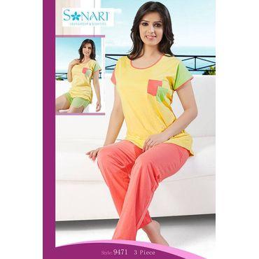 Comforta - Three piece Sonari Nightwear Set