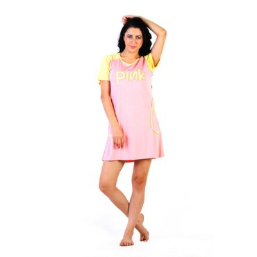 Pink yellow short