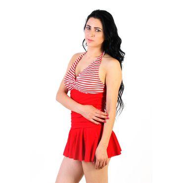 La Zoya Sizzling  Red Halter Red