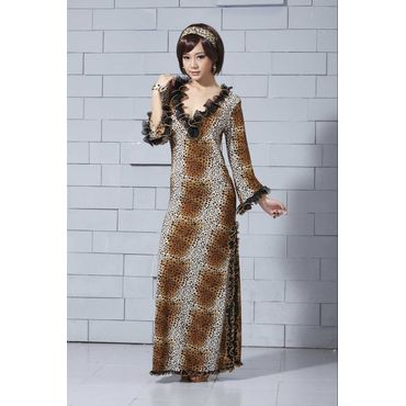 Leopard print -Brown
