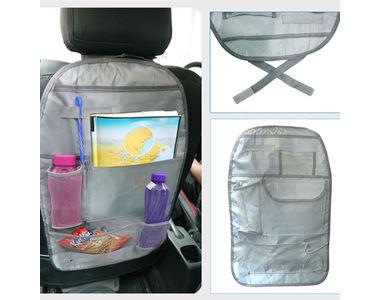 Speedwav Car Back Seats Multi-functional Pockets Storage Organiser Bag-Grey