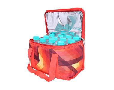 Speedwav Car Waterproof Portable Thermal Cooler Mini Bag for Travel-Red
