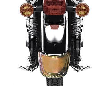 Speedwav Brass Bike Rear Fender Mudflap for Royal Enfield