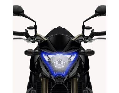 Speedwav Flexible 30cm Headlight Neon LED DRL Tube-Blue