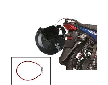 Speedwav 4 Digit Steel Cable Helmet Lock- Red