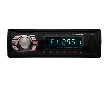 Speedwav FP-48 Car MP3 Stereo USB FM Remote