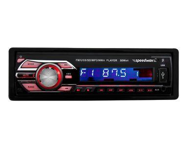 Speedwav DP-3229 Detachable Panel Car MP3 Stereo USB FM Aux Remote
