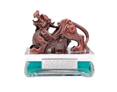 Speedwav Brass Finish Dragon Car Perfume 50ml-Aqua