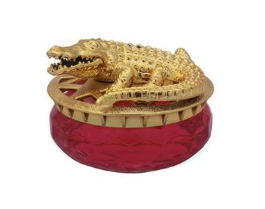 Speedwav Golden Alligator Car Perfume 30ml-Lavender