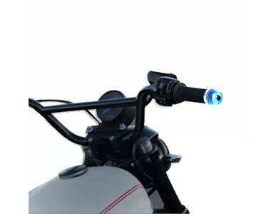 Speedwav Stylish Bike Handle Grip Edge BLUE LED Light