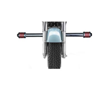 Speedwav Single Rod Bike Safety Leg Crash Guard-Chrome for Royal Enfield