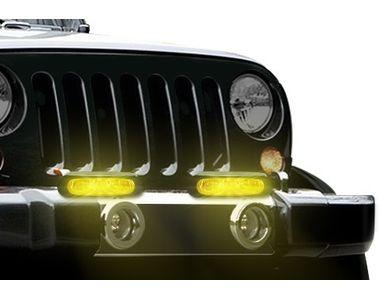 DLAA 990B High Power Halogen Aux Lights Set of 2-Yellow