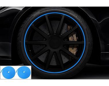 Speedwav Wheel/Rim Stylish Tape Set Of 2-Blue