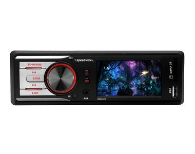 Speedwav GS-800 Fixed Panel Car MP5 Stereo SD-Card Slot USB AUX FM Remote