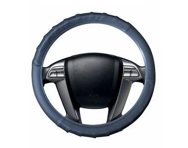 Speedwav Grippy SC106 Leatherette Car Steering Cover-Grey