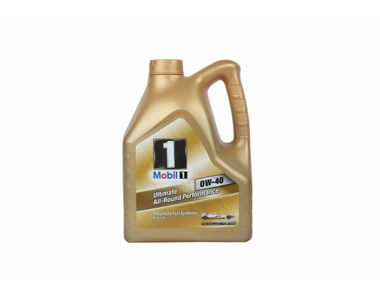 Mobil1 0W-40 Synthetic Car Petrol Engine Oil 4 Litre