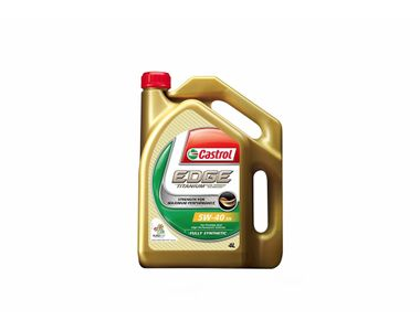 Castrol 5W-40 Synthetic Car Petrol Engine Oil 4 Litre