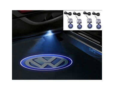 Speedwav Stick On Car Door Ghost Shadow LED Light Set of 4